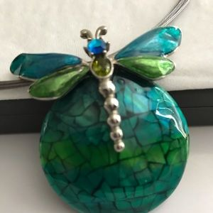 Dragonfly necklace from Chico's.
